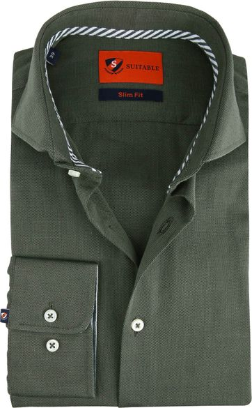 Suitable Shirt Wesley Olive