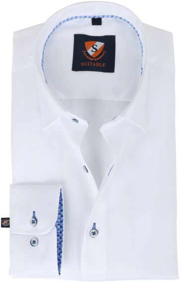 Suitable Shirt White Twill