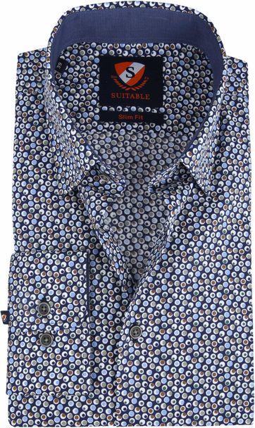 Suitable Shirt Willem Bolls Multicolour