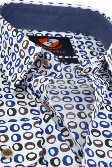 Suitable Shirt Willem Retro Eyes
