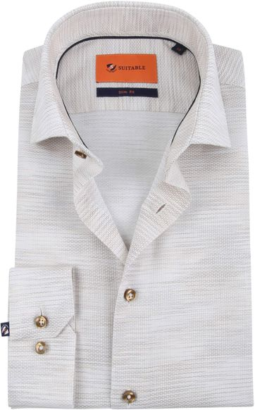 Suitable Shirt WS Beige