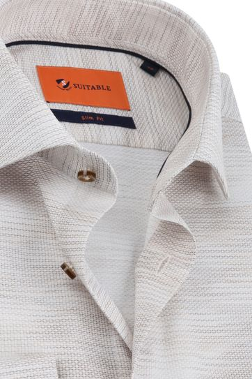 Suitable Shirt WS Beige