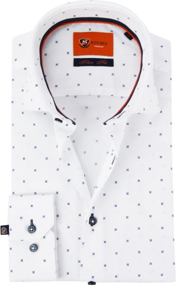 Suitable Shirt WS Cross White