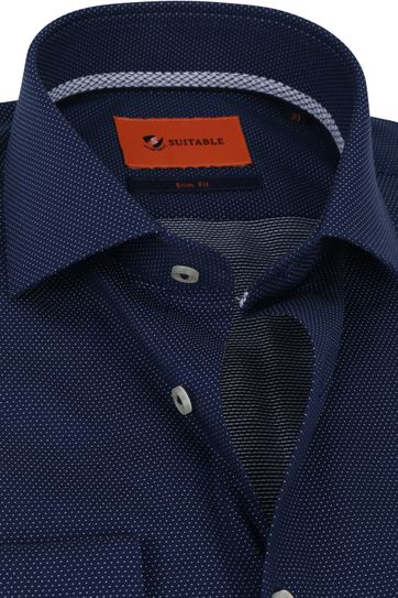 Suitable Shirt WS Dots Navy