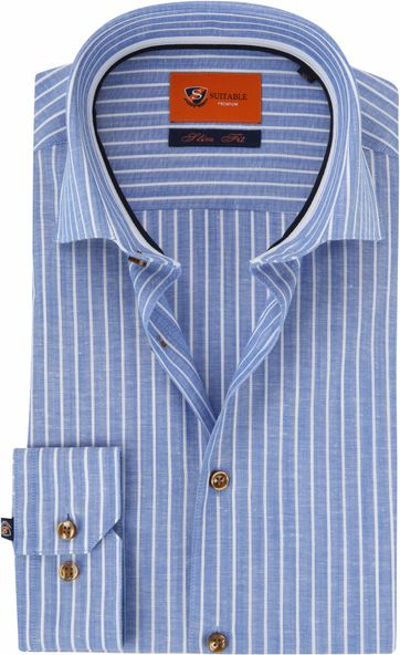 Suitable Shirt WS Royal Stripe