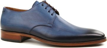 Suitable Shoe Leather Blue