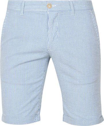 Suitable Short Don Streifen Blau