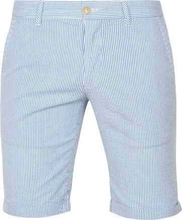 Suitable Short Don Strepen Blauw