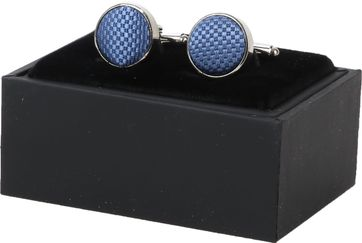 Suitable Silk Cufflinks Denim