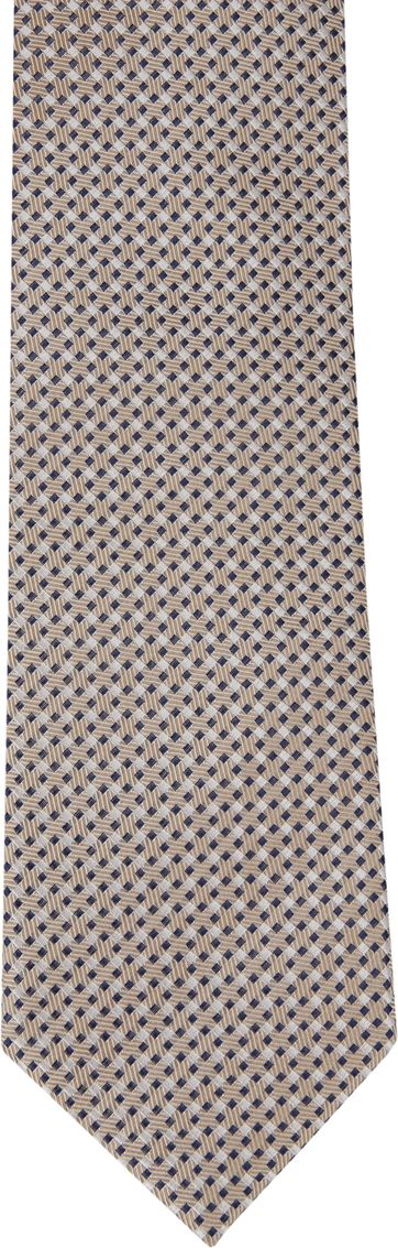 Suitable Silk Tie Side Checks F91-5