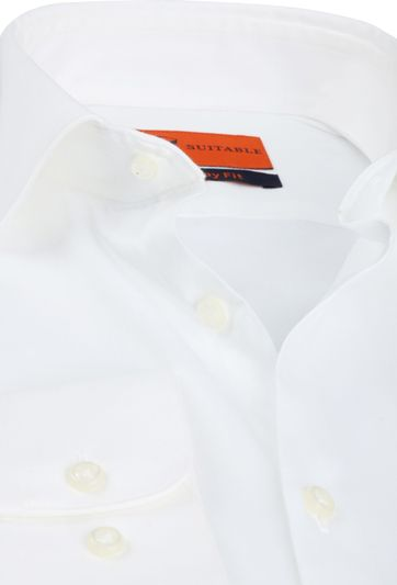 Suitable Skinny-Fit Shirt White
