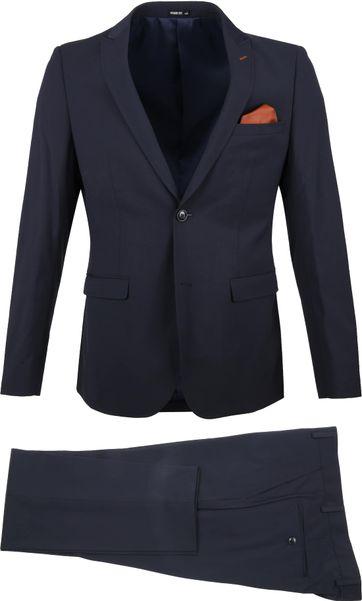 Suitable Sneaker Anzug Dunkelblau
