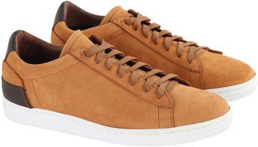 Suitable Sneaker Cognac Nubuk
