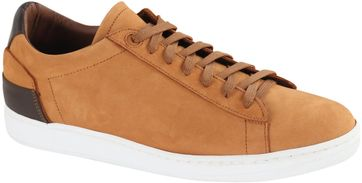 Suitable Sneaker Cognac Nubuk