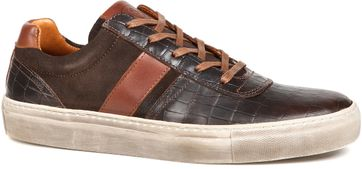 Suitable Sneaker Croco Brown