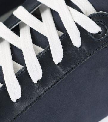 Detail Suitable Sneaker Donkerblauw Nubuck