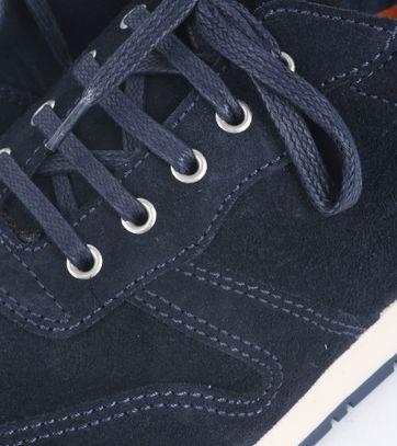 Suitable Sneaker Donkerblauw Suede