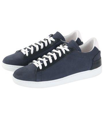 Suitable Sneaker Navy Nubuck