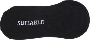 Suitable Sneakersok 9-Pack Zwart