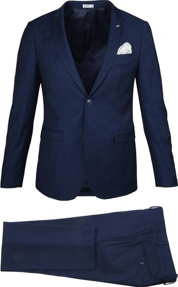 Suitable Sneakersuit Middenblauw