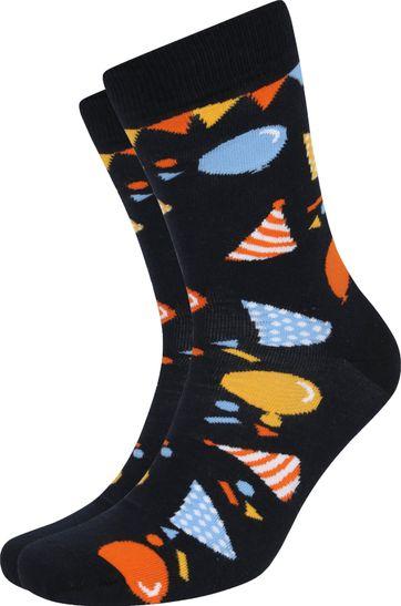 Suitable Socken Happy Birthday Multicolour