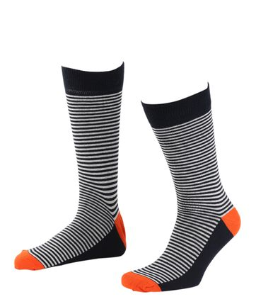 Suitable Socken Navy / Weiss