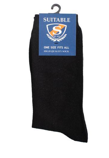 Suitable Socken Schwarz  3-Pack