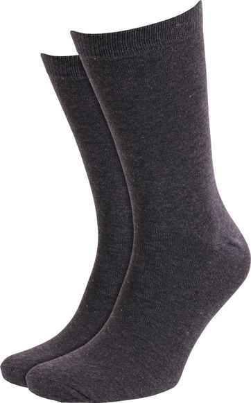 Suitable Socks Dark Grey Mellee