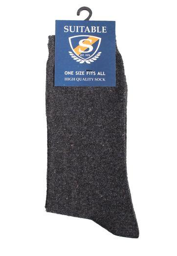 Suitable Socks Dark Grey Mellee 3-Pack