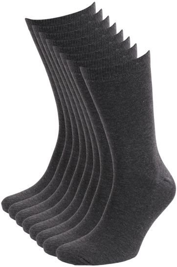 Suitable Socks Grey 8-Pack