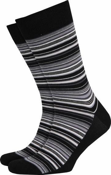 Suitable Socks Grey Stripes