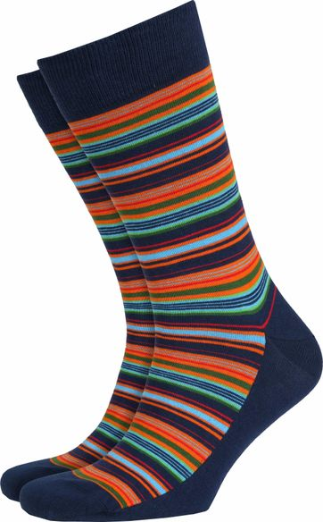 Suitable Socks Multi Color Stripes