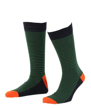 Suitable Socks Navy/Green