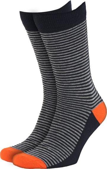 Suitable Socks Navy/Grey