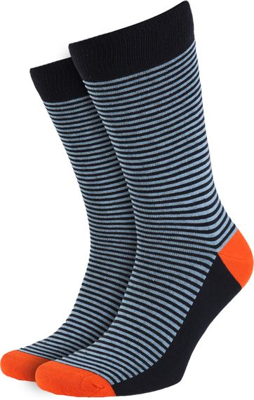 Suitable Socks Navy/Light Blue
