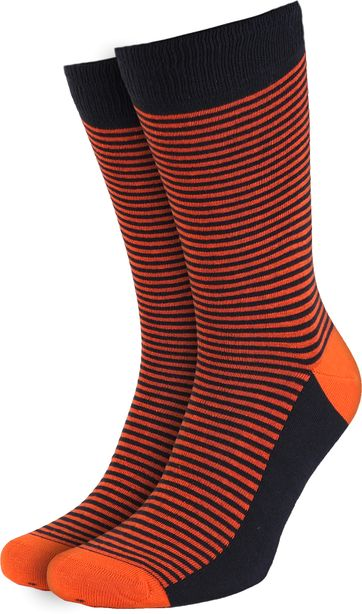Suitable Socks Navy/Orange