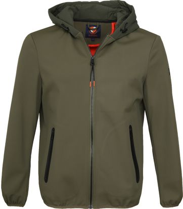 Suitable Softshell Jacke Tom Armee