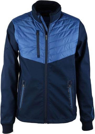 Suitable Softshell Spur Jacke Blau