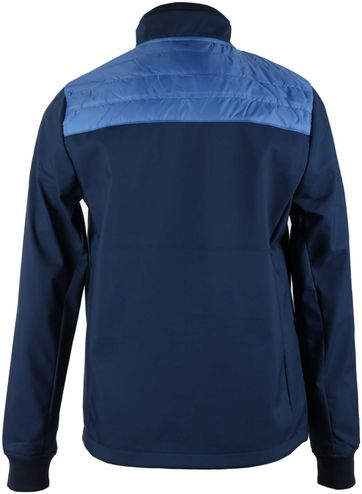 Suitable Softshell Spur Jacket Blauw