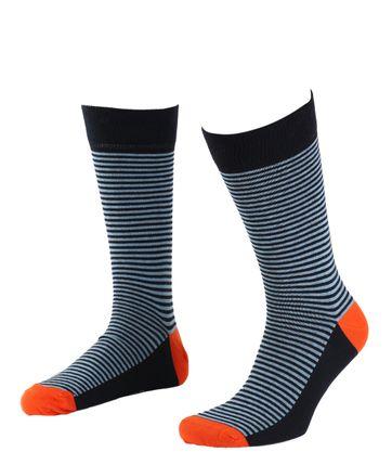 Suitable Sokken Navy/Licht Blauw