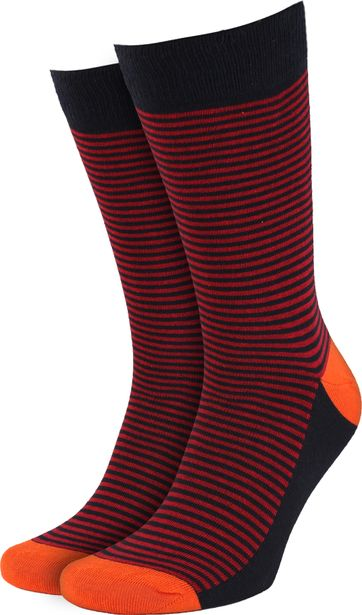 Suitable Sokken Navy/Rood