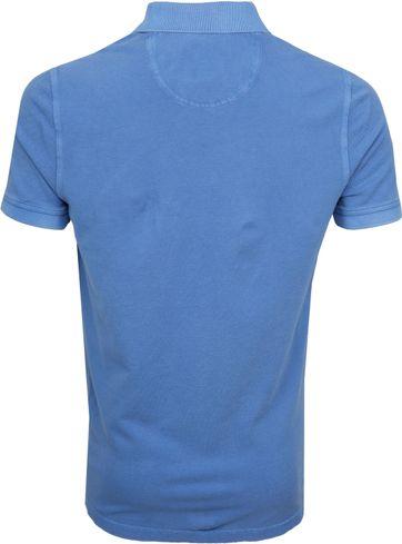 Suitable Stone Wash Polo Blauw