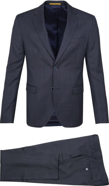Suitable Strato Anzug Dunkelblau