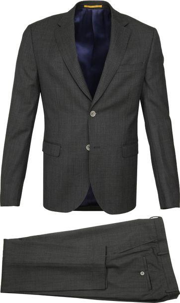 Suitable Strato Anzug Dunkelgrün