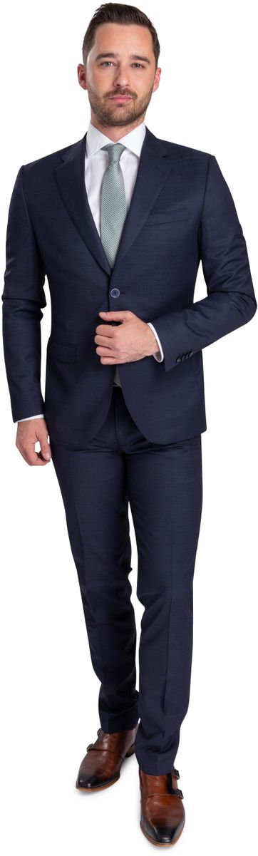 Suitable Strato Suit Dessin Navy