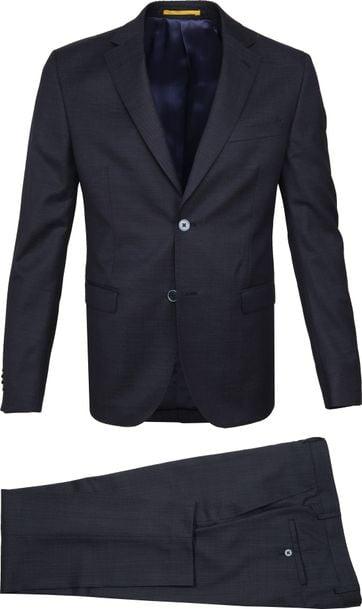 Suitable Strato Suit Dessin Navy