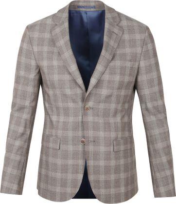 Suitable Strato Suit Karo Beige