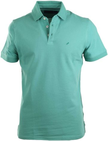 Suitable Stretch Polo Green