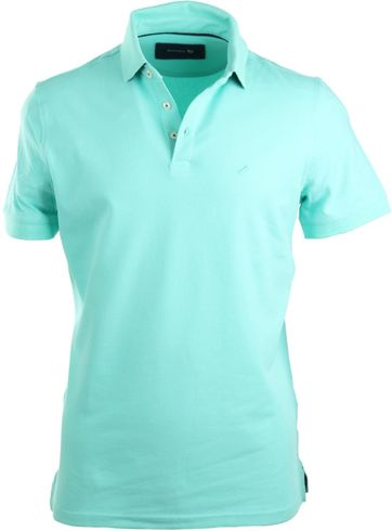 Suitable Stretch Polo Mint Green
