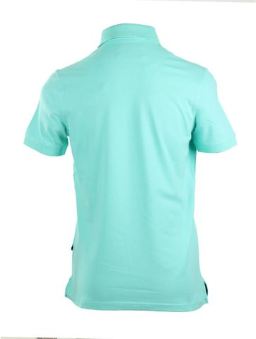 Detail Suitable Stretch Polo Mint Groen